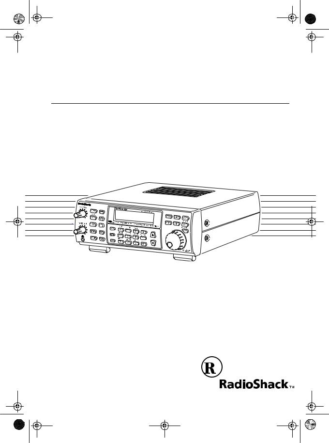 Radio Shack PRO-2045 User Manual