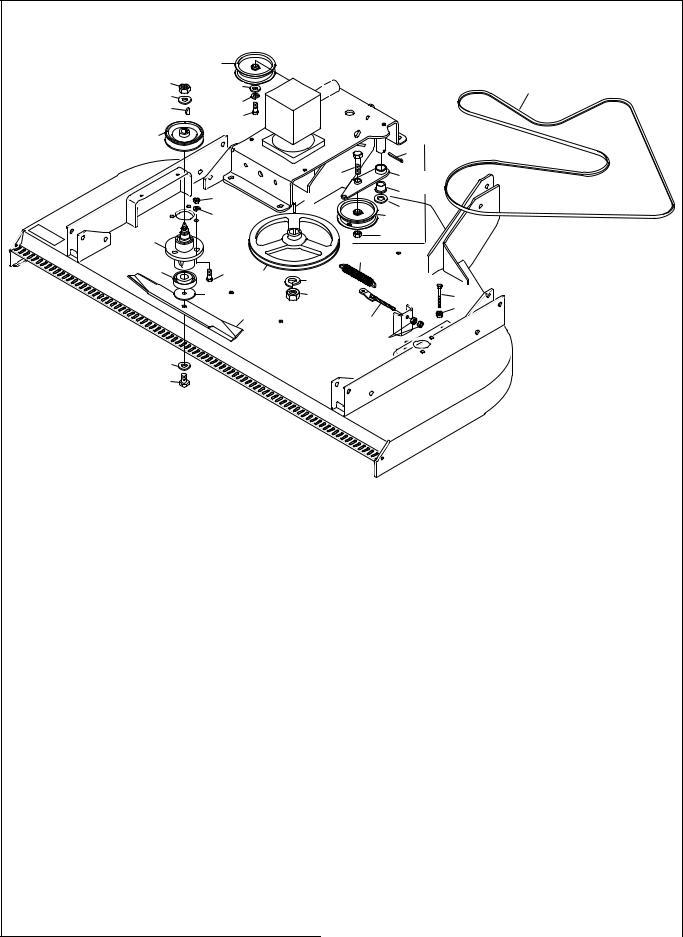 Bush Hog RDTH SERIES RDTH 72 User Manual