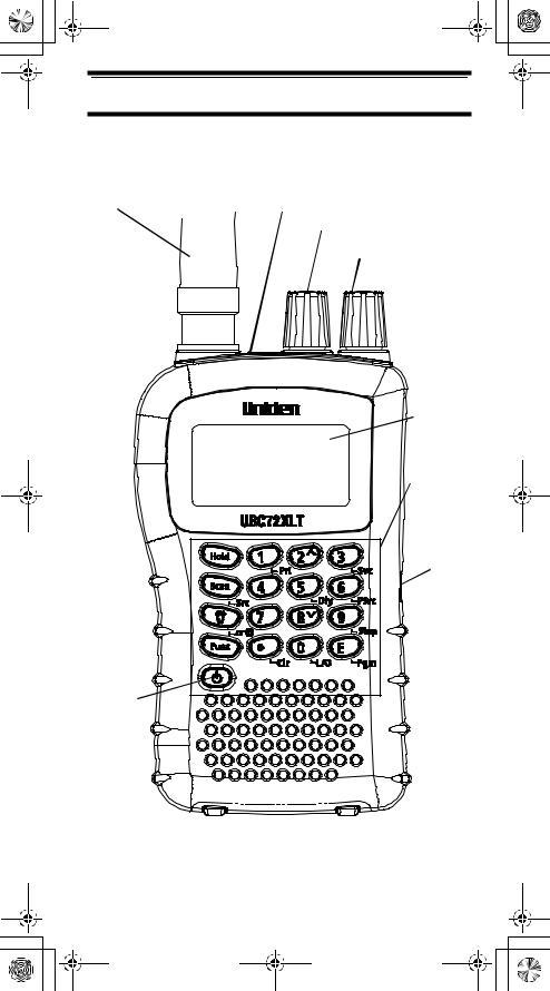 Uniden UBC72XLT User Manual