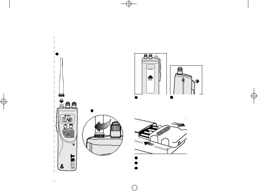 Cobra Electronics 37 ST, HH 37 ST, 37STML User Manual