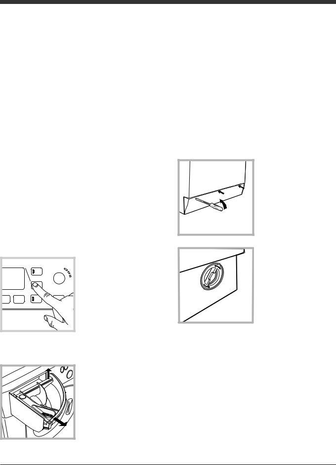 Hotpoint-ariston WDG 862 User Manual