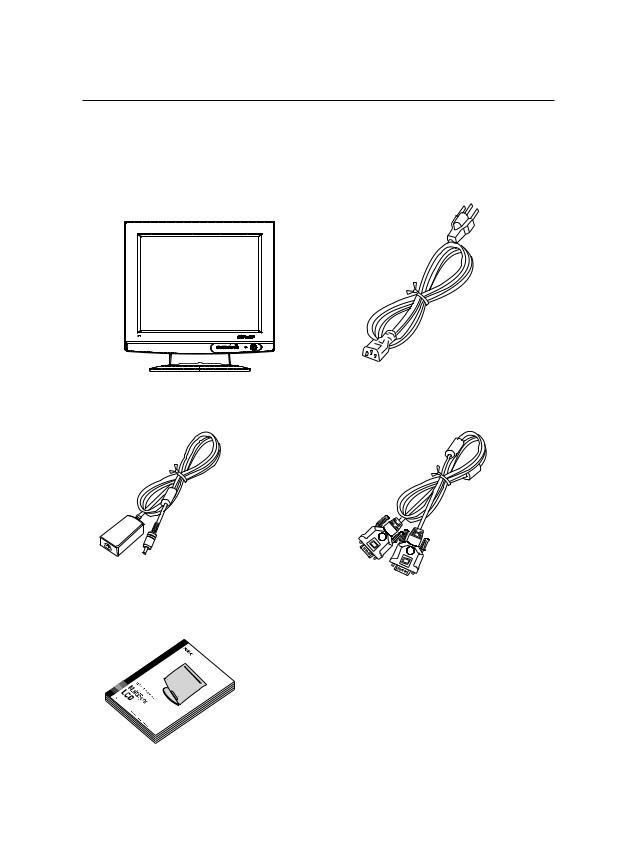 NEC MultiSync LCD1700NX User Manual