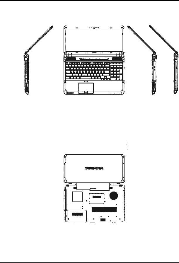 Toshiba satellite a660 pro a660 Service Manual