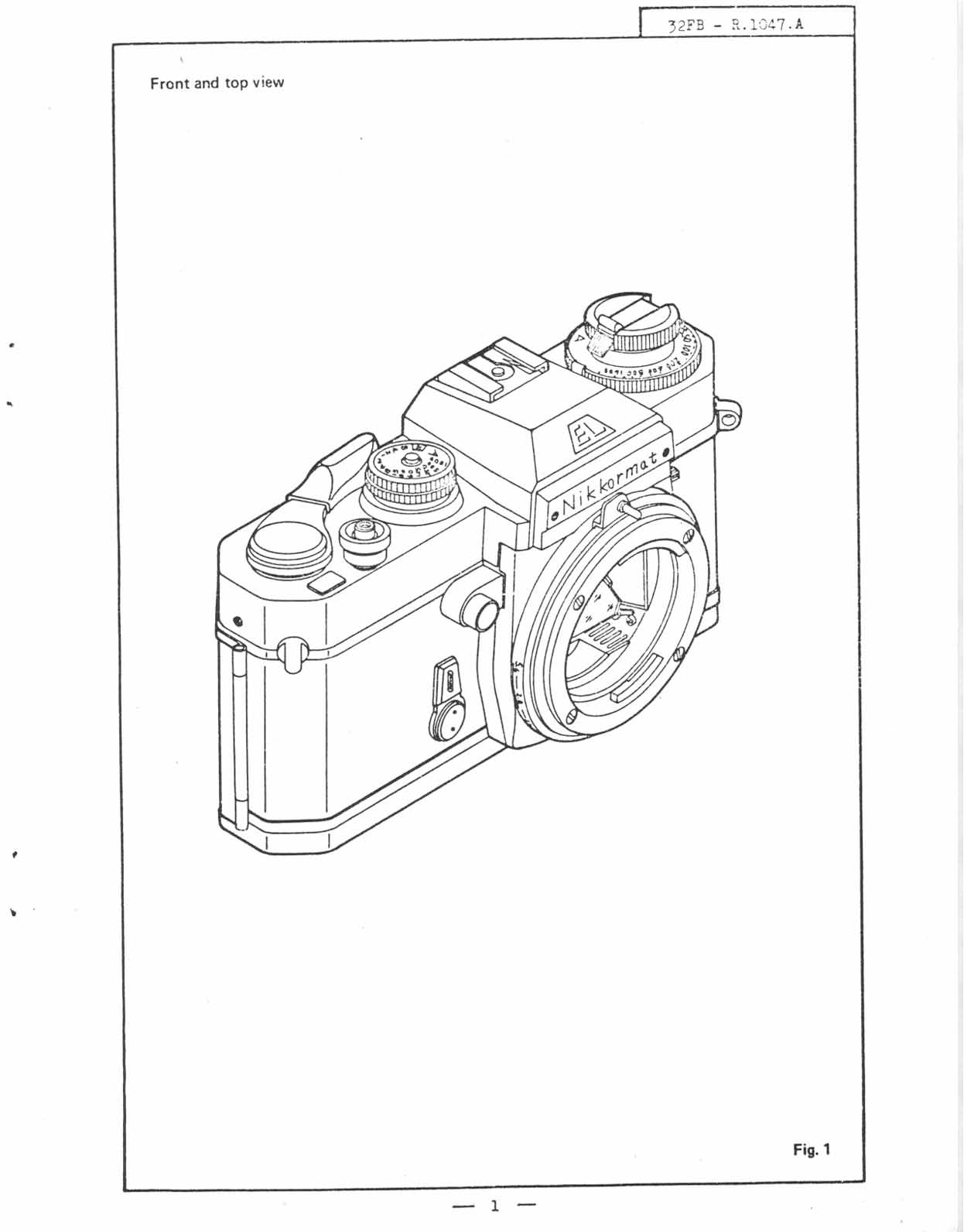 Nikon Nikkormat EL Repair Manual