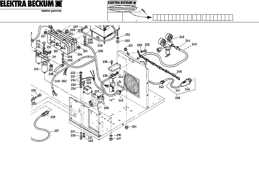 Elektra Beckum MIG-MAG 170, MIG-MAG 30 User Manual