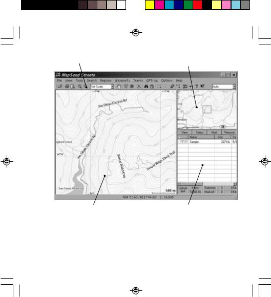 Magellan MAPSEND TOPO QUICK User Manual