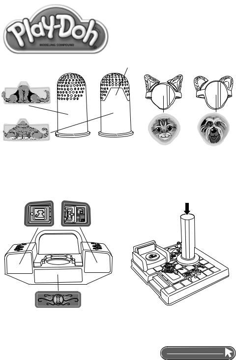 Hasbro PlayDoh Animal Bucket 22454 User Manual