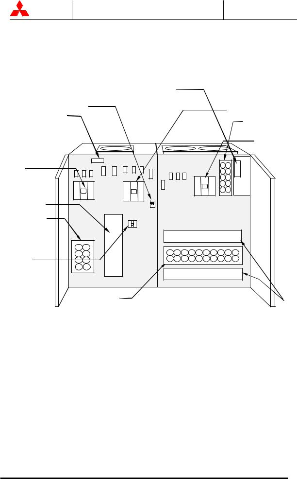 Mitsubishi 9800A Series, 9800A SERIES UPS systems User Manual