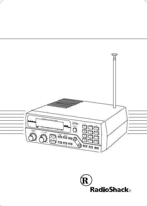 Radio Shack Pro-2048 User Manual