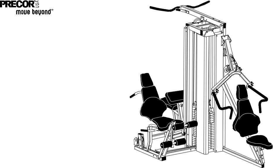 Precor Strength-Training S3.45, S3.45 User Manual