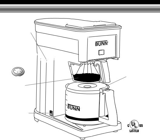 Bunn BX-W, GRX-W, GRX-B User Manual 2