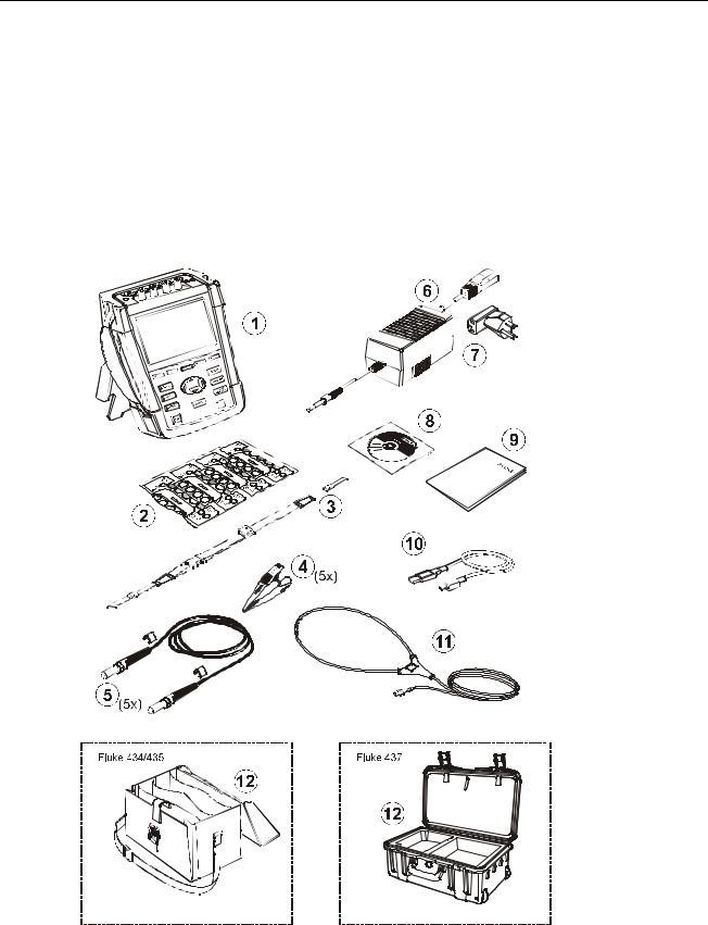 Fluke 434 II, 435 II, 437 II User Manual