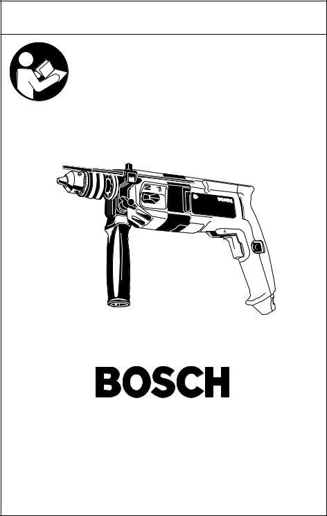 Bosch 1194VSR, 1194AVSR User Manual
