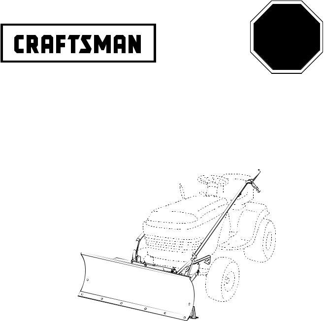 Craftsman 48624414 User Manual