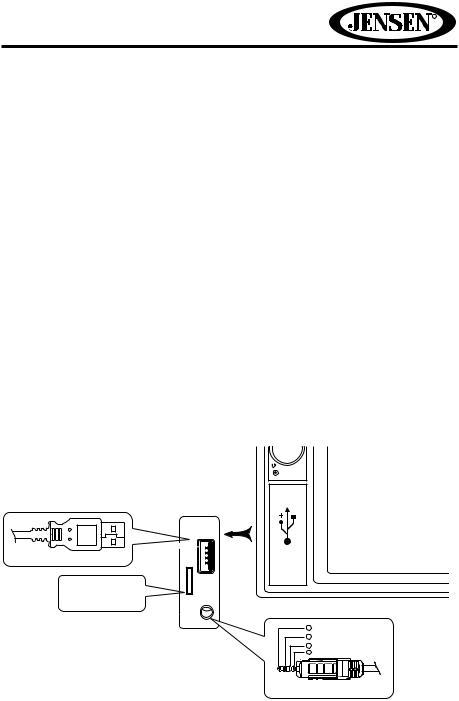 Jensen VX4022A User Manual