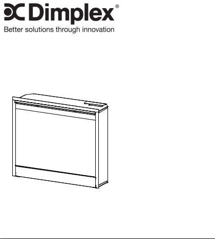 Dimplex NBDF2608, DF2622BLK, DF2622SS User Manual
