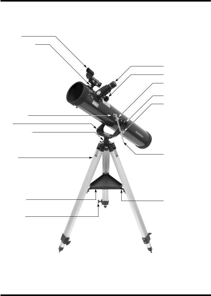 Orion SPACEPROBE 3 ALTAZ 9883, 9883 User Manual