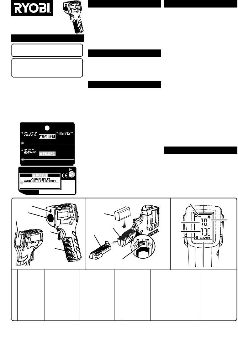 Ryobi IR002 User Manual