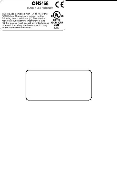 Datalogic Scanning Matrix-1000 User Manual