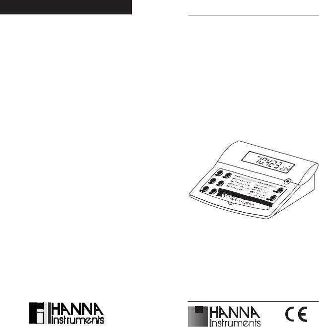 Hanna Instruments PH 210 User Manual