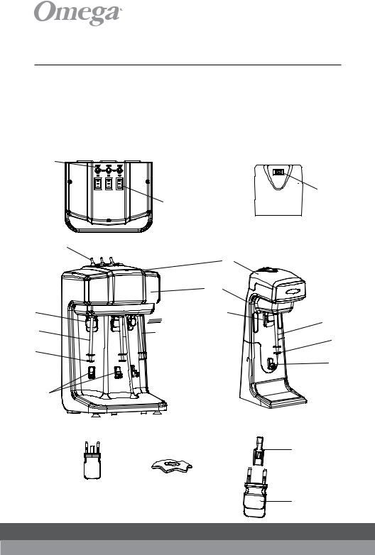 Omega Juicers M1000, M3000 Instruction Manual