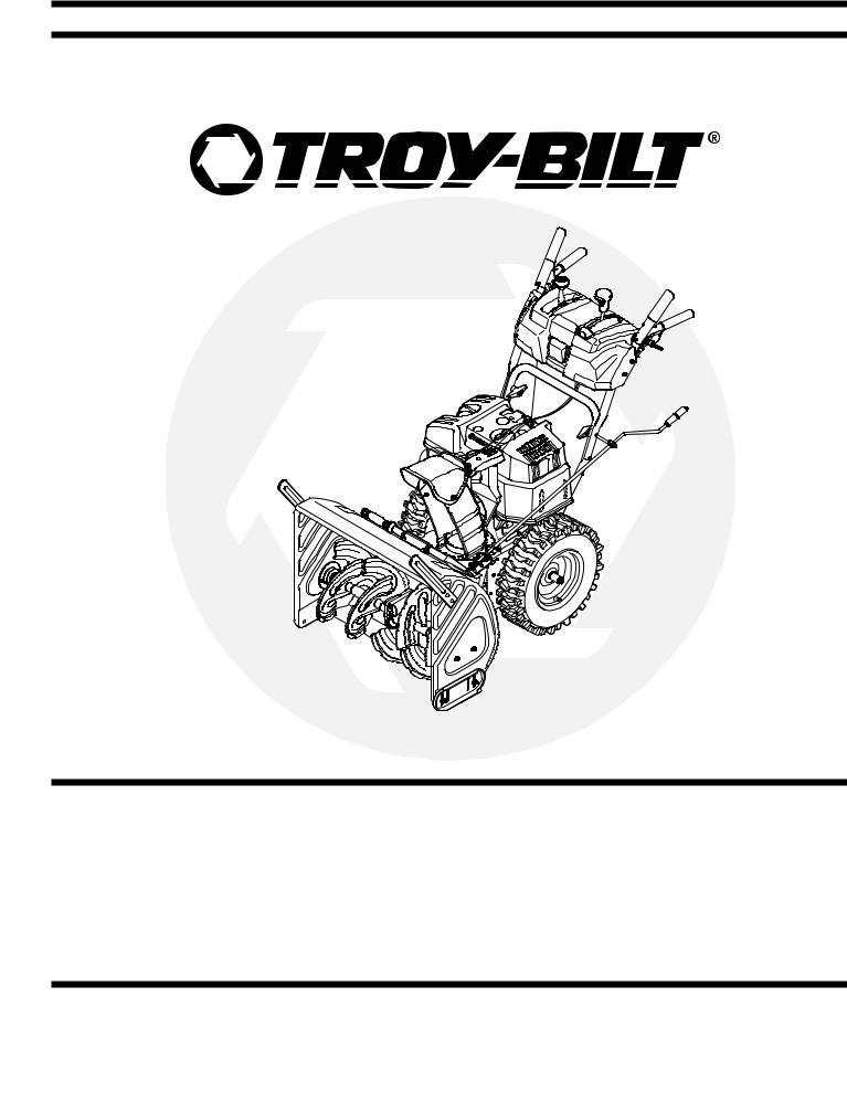Troy-Bilt 31AE6GKF500 User Manual