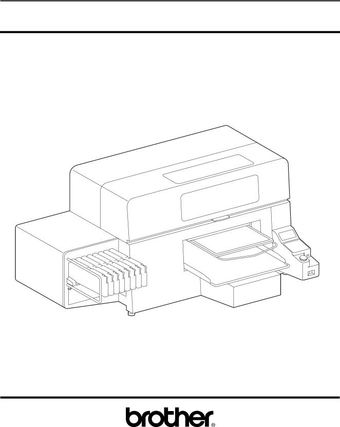 Brother GT-381, GT-361, GT-341 User Manual