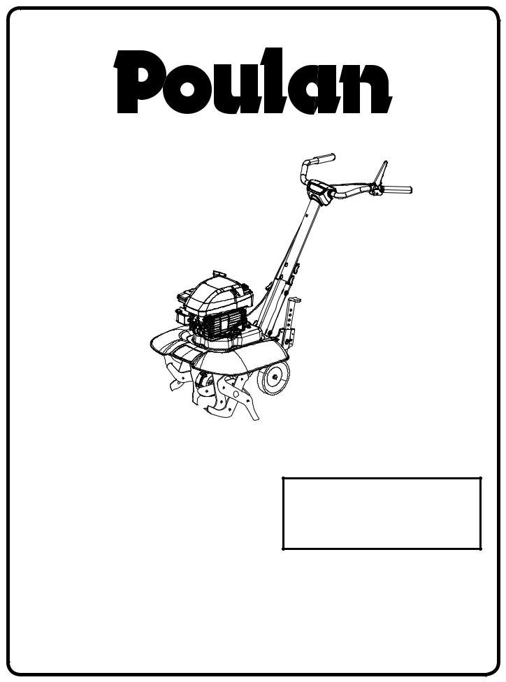 Poulan VF550, 96082001500, 433552 User Manual