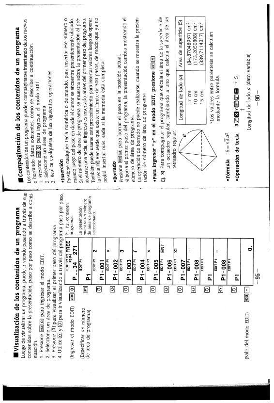 CASIO FX-3900PV User Manual