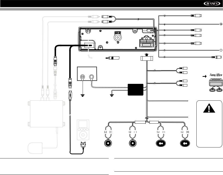 Jensen VM8013 User Manual