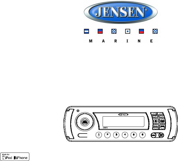 Jensen JMS2012 User Manual