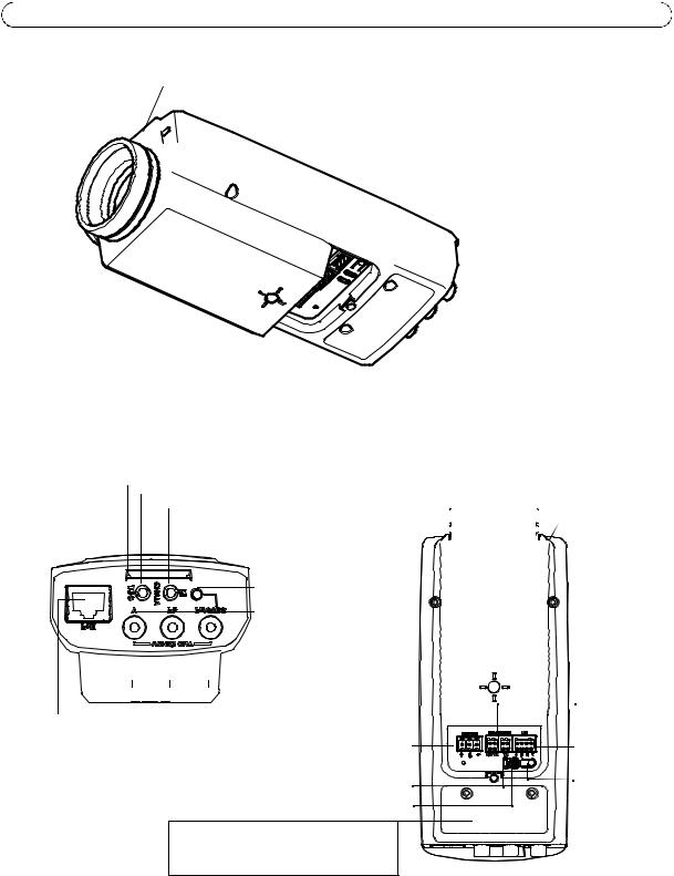 Axis Communications Q1755, Q1755-E, AXIS Q1755-E User Manual