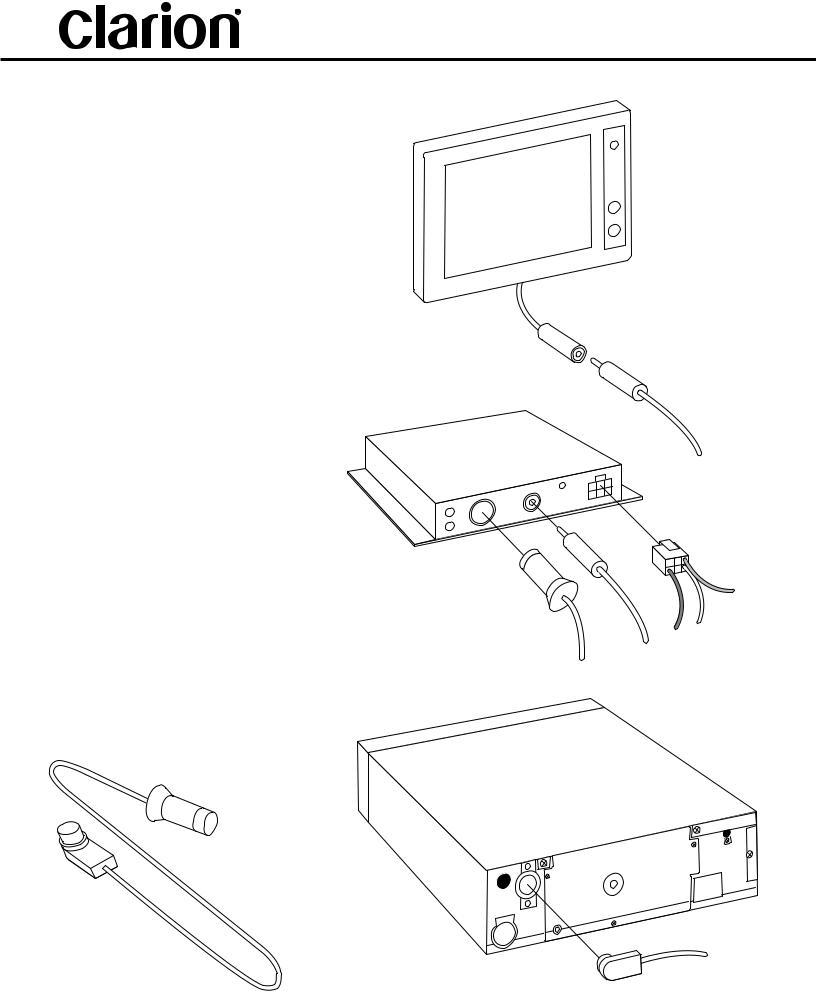 Clarion Dxz645mp Wiring Diagram