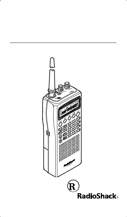 RadioShack PRO-74 Owners Manual