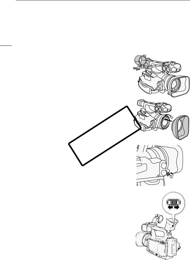 Canon XF100, XF105 User Manual