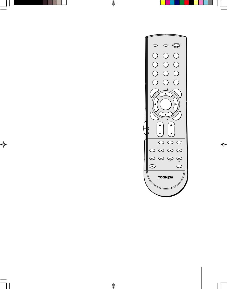 Toshiba CT-90159, 52HM84, 62HM84 User Manual