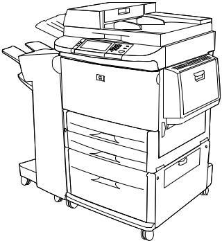 HP 9000Lmfp, LaserJet 9000 Printer series, LaserJet 9000