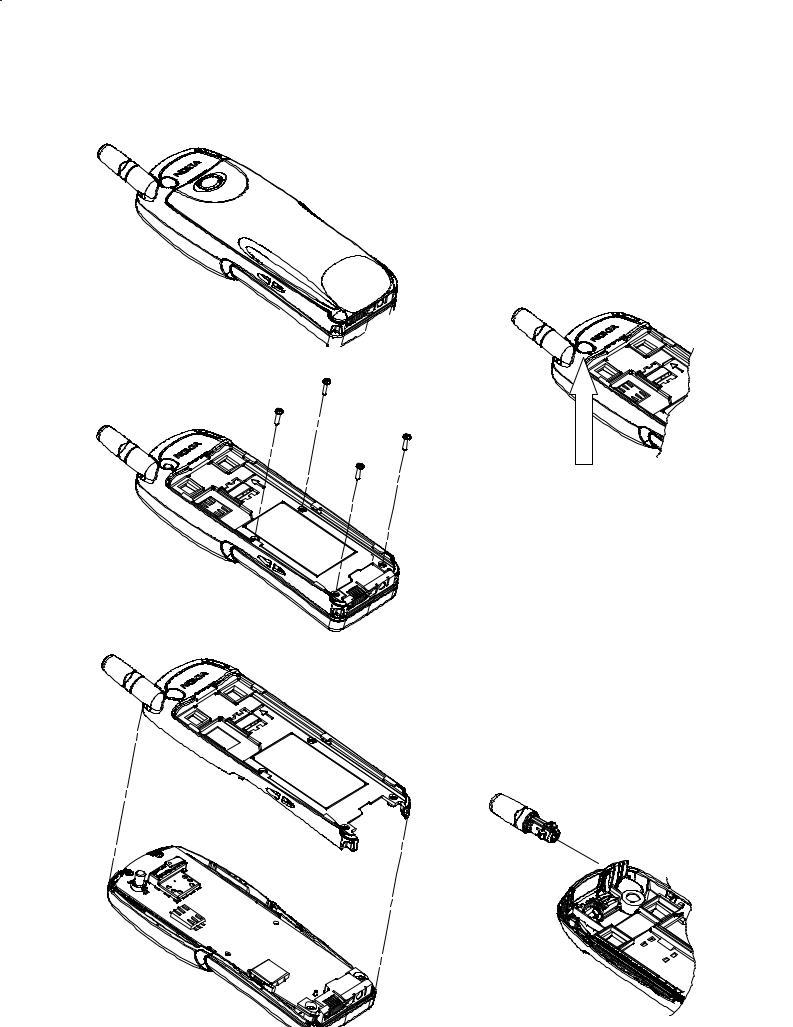 Nokia 7110 Service Manual disassembly