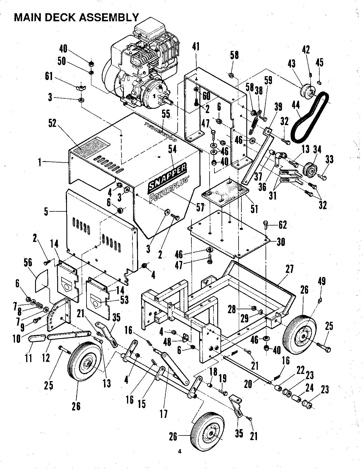 Snapper PowerPlug PP5001 User Manual