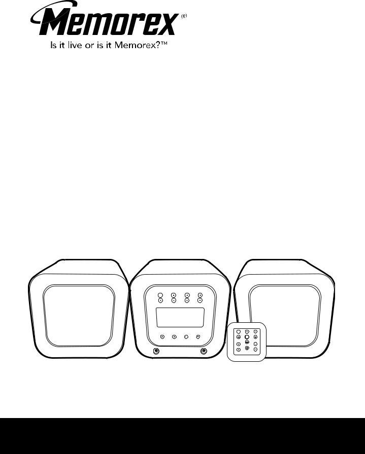 Memorex MX4118 User Manual