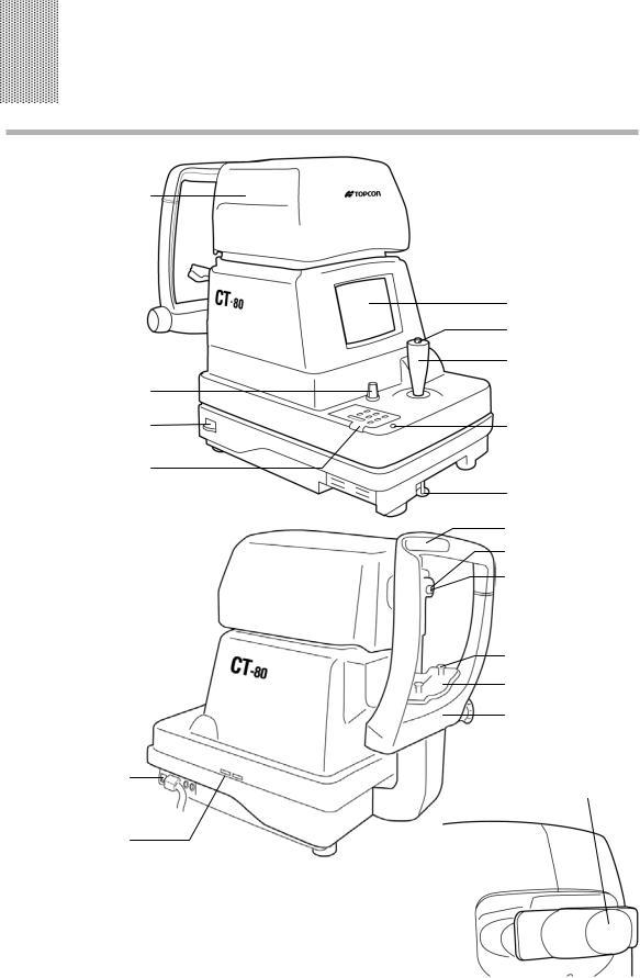 Topcon COMPUTERIZED TONOMETER, CT-80 User Manual