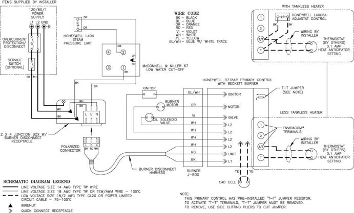 Low Water Cut Off Mcdonnell Miller 67 Wiring Schematic