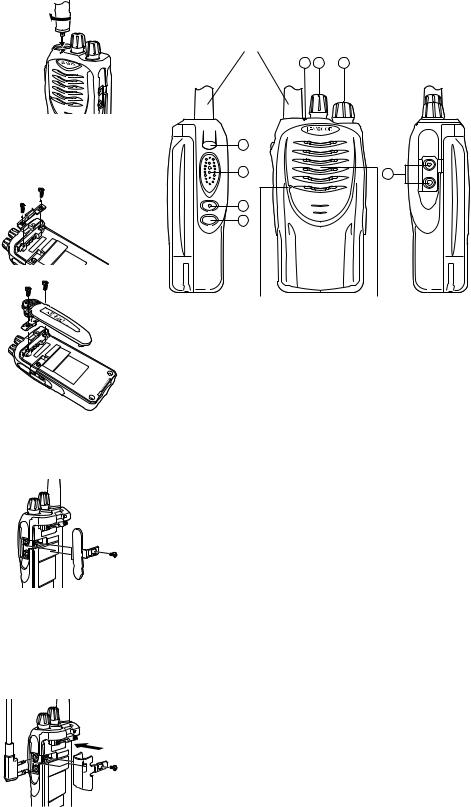 Kenwood M), TK-2160, TP-2160 User Manual