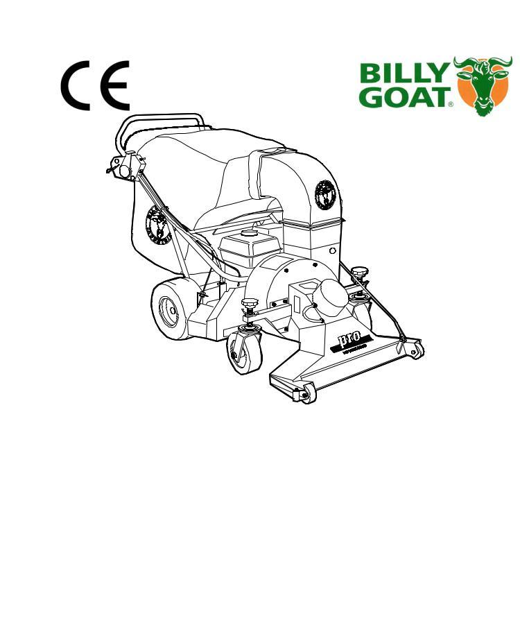 Billy Goat VQ902SPH User Manual