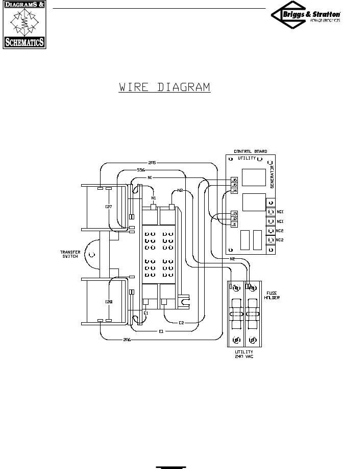 Briggs & Stratton 01814-0, 01813-0 User Manual