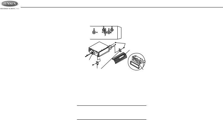 Jensen JDV8035 User Manual