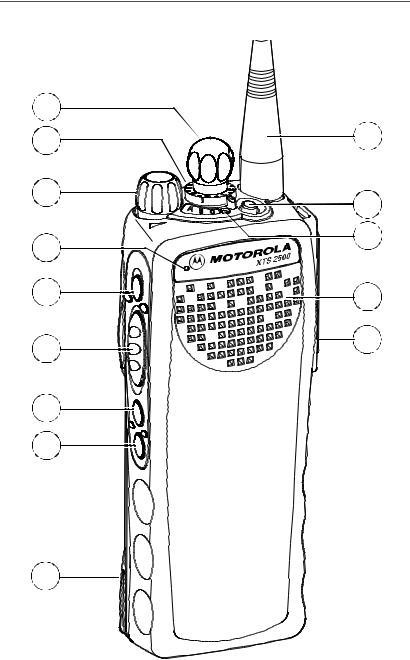 Motorola XTS2500 User Manual