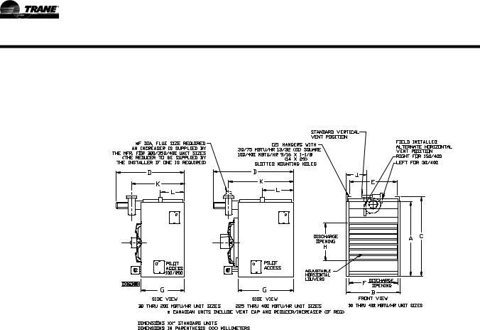 Trane GHND-SVX01A-EN User Manual