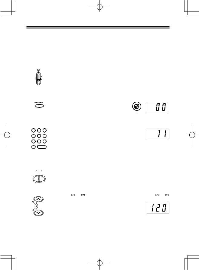 Casio LK-42, LK-40 User Manual