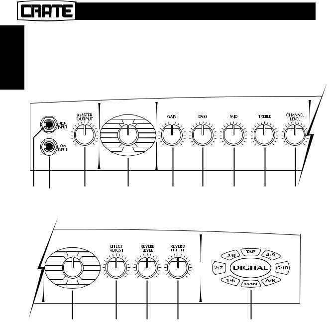 Crate Amplifiers DXJ112 User Manual